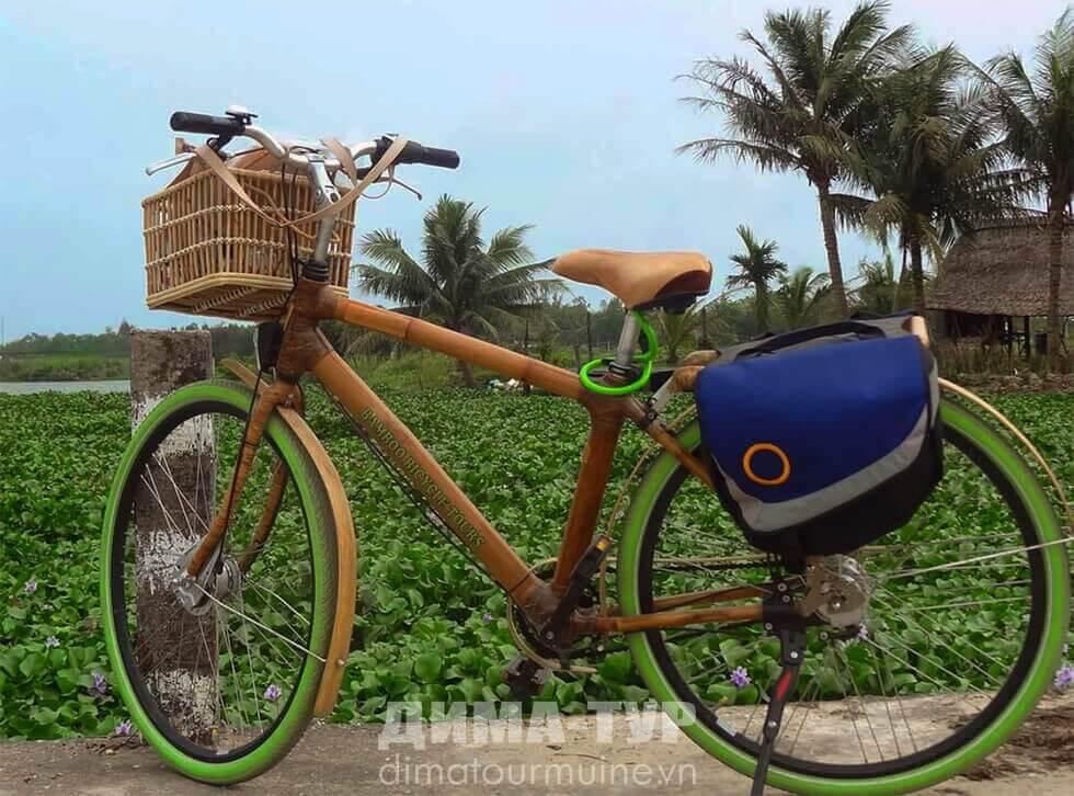 Вьетнамский бамбуковый велосипед