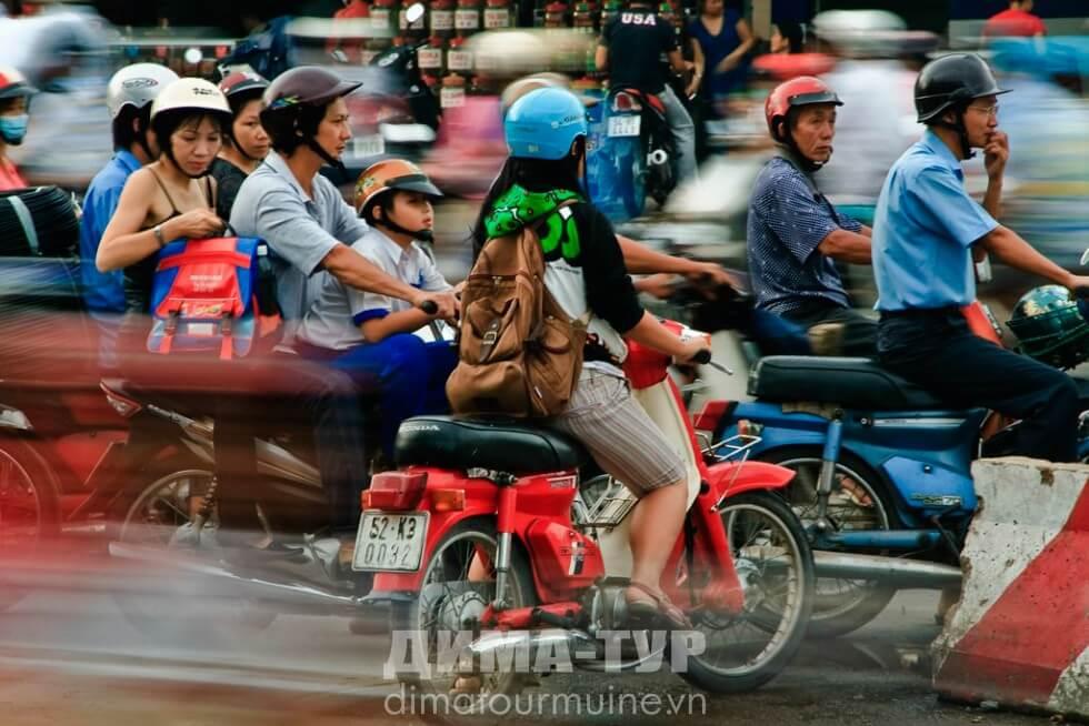 Безопасность дорожного движения во Вьетнаме