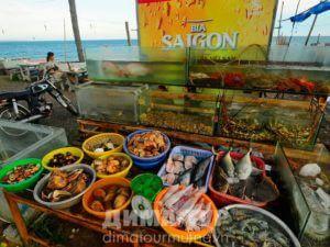 Боке в Муйне (морепродукты, Вьетнам)