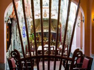 Внутреннее убранство отеля crazy house в Далате