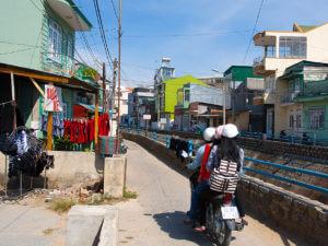 Уютные каналы в городе Далат