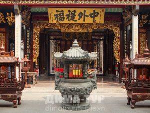 Храмы Хошимина (Сайгона) : Thien Hau Pagoda