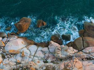 Вид на море с маяка Кега
