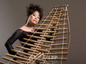 Музыкальные инструменты Вьетнама. Чынг (Trung)