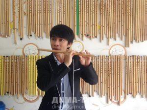 Музыкальные инструменты Вьетнама. Флейты из бамбука