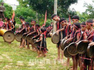 Музыкальные инструменты Вьетнама. Гонг