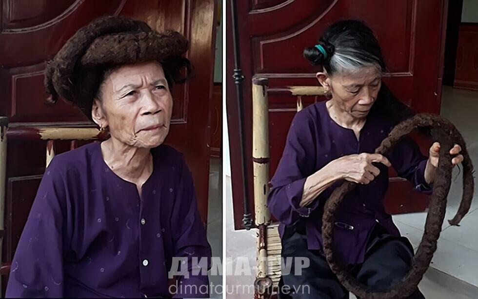 Самые длинные дреды у вьетнамской бабушки