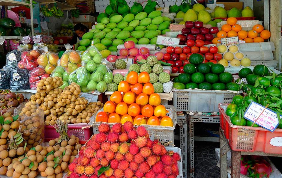 Шопинг в Муйне. Тропические фрукты