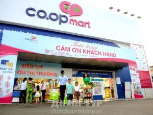 Супермаркеты Фантьет, Нячанг, Вьетнам. Кооп март