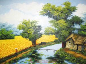 Сувениры из Вьетнама: Картины, вышитые шелком