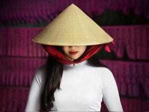 Сувениры из Вьетнама: Шляпа Нон