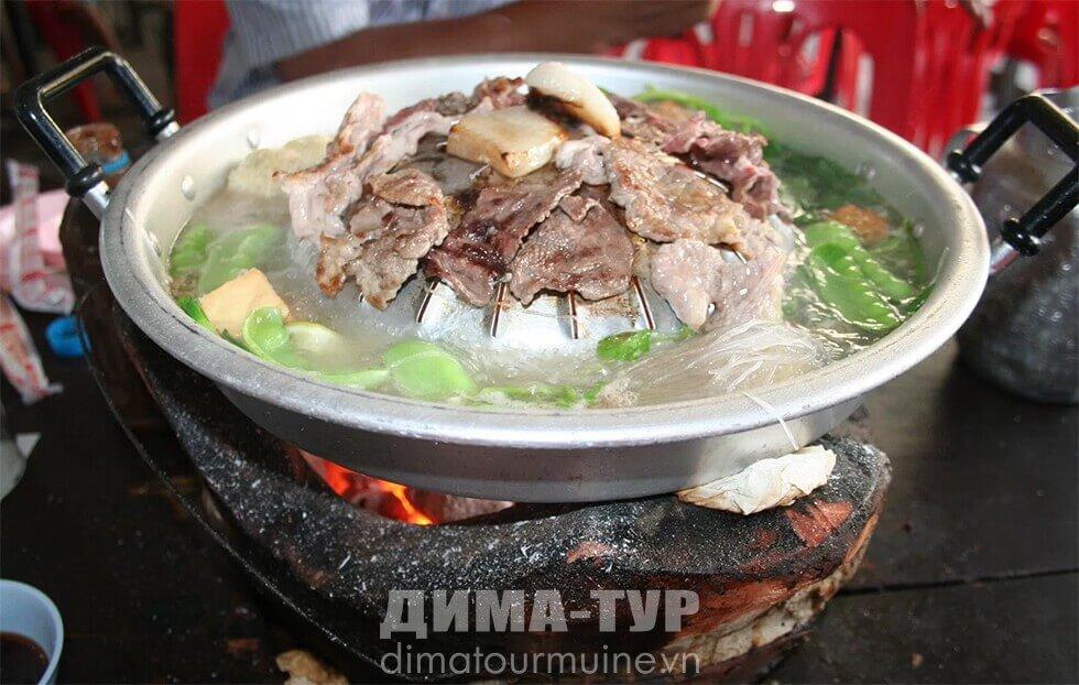 Вьетнамский суп лао (хот пот)