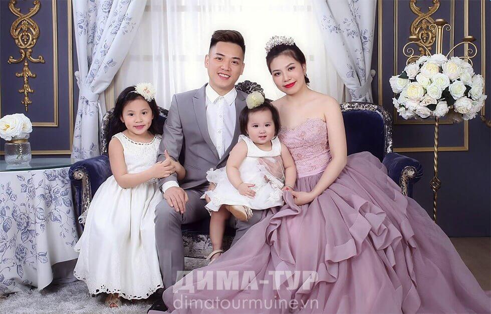 во вьетнамских семьях двое детей