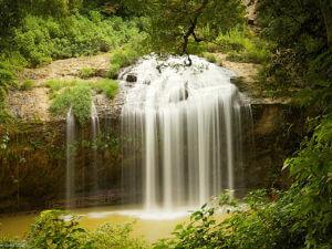 Водопад Пренн в Далате