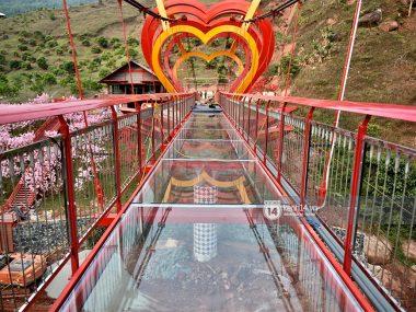 5D стеклянный мост любви во Вьетнаме