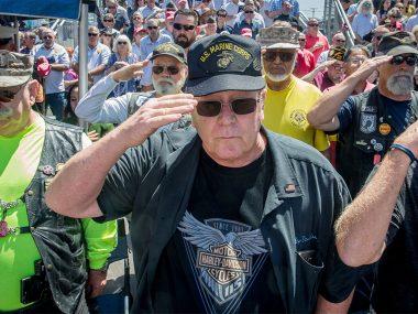 Американские ветераны войны во Вьетнаме