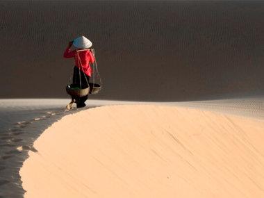 Белые дюны в Муйне, Вьетнам