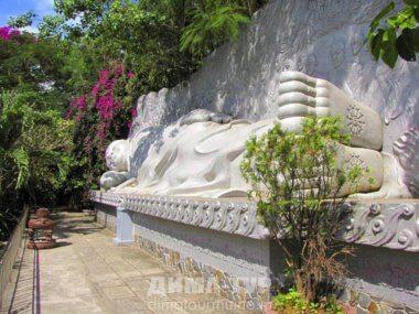 Буддийские храмы во Вьетнаме. Пагода Лонг Шон в Нячанге (Chùa Long Sơn)