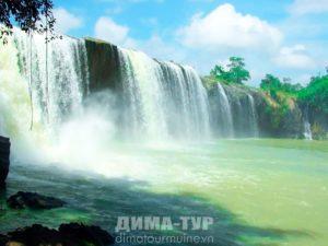 Даклак, водопады