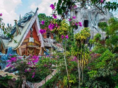 Город Далат на юге Вьетнама