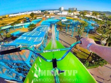 Dam Sen парк в Хошимине