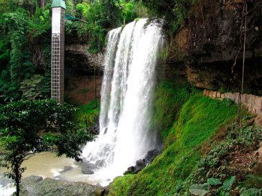 Водопад Дамбри. Вьетнам