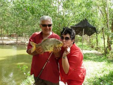 Экскурсия из Муйне на озерную рыбалку с обедом из улова