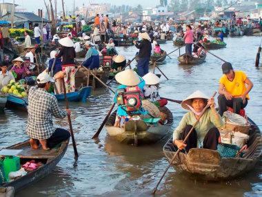 Дельта реки Меконг. Экскурсия