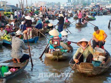 Экскурсии : Дельта реки Меконг