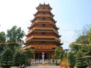 Храмы Хошимина (Сайгона) : Giac Lam Pagoda