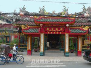 Храмы Хошимина (Сайгона) : Quan Am Pagoda