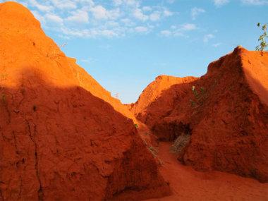Красный каньон (Red canyon). Муйне, Вьетнам.