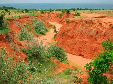 Красный каньон (рядом с Муйне)