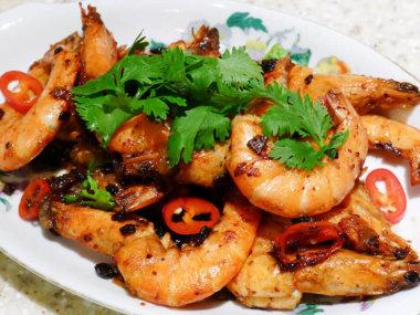 Морепродукты во Вьетнаме. Креветки