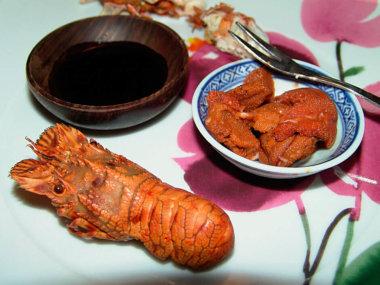 Морепродукты во Вьетнаме. Рак-медведь