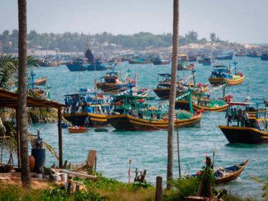 Рыбацкая деревня Муйне. Рыбаки