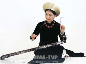 Музыкальные инструменты Вьетнама. Дан Бау