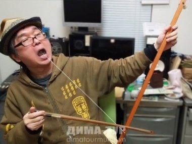 Музыкальные инструменты Вьетнама. Однострунный инструмент кни (kni)