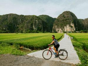 Парк трех пещер Там Кок (Tam Coc)