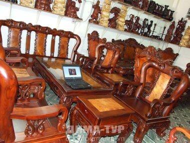 Ремесла Вьетнама : мебель из дерева
