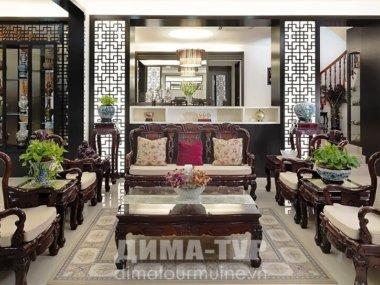 Роскошная мебель — знак богатства вьетнамской семьи