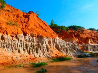 Экскурсия на ручей фей (Fairy stream) в Муйне, Вьетнам