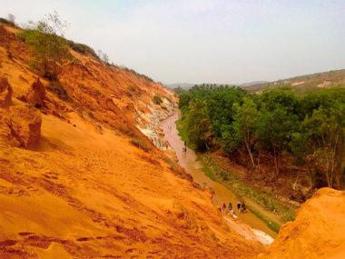 Ручей фей (Fairy stream) в Муйне, Вьетнам