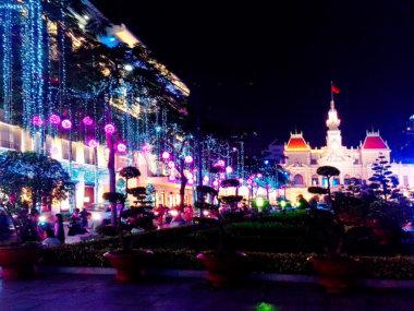 Сайгон в Рождество. Вьетнам