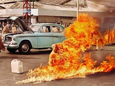Самосожжение буддийского монаха во Вьетнаме