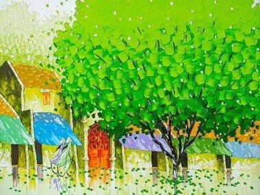 Современная вьетнамская художница