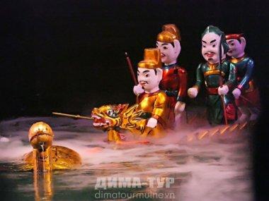 Театр кукол на воде в Сайгоне