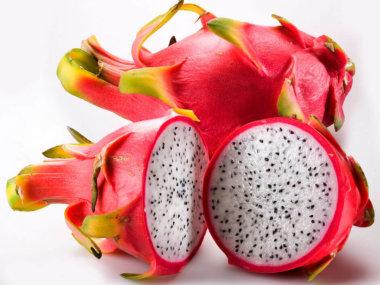 Тропические фрукты Вьетнама. Драгон-фрут
