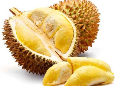 Тропические фрукты Вьетнама. Дуриан