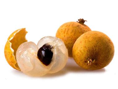 Тропические фрукты Вьетнама. Ланган